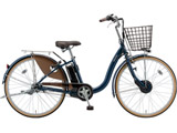 24型 電動アシスト自転車 フロンティア(E.Xノーブルネイビー/内装3段変速) F4AB29【2019年モデル】