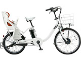 24/20型 電動アシスト自転車 ビッケ モブ dd(E.XBKホワイト/3段変速)BM0B49【2019年モデル】