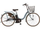 24型 電動アシスト自転車 アシスタファイン(E.Xマリノブルー/内装3段変速)A4FC19【2019年モデル】