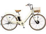 26型 電動アシスト自転車 カジュナ e スイートライン (E.Xエッグシェルベージュ/内装3段変速) CS6B49【2019年モデル】