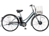 26型 電動アシスト自転車 アルベルトe B400 L型(M.XHスパークルシルバー/内装3段変速) AL6B49【2019年モデル】