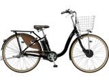 26型 電動アシスト自転車 フロンティアデラックス(オリジナルカラー・クロつや消し/内装3段変速)F6BB49【2019年モデル】