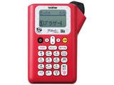 ラベルライター 「ピータッチ(P-touch)」(テープ幅:12mmまで) PT-J100MR(ミニーレッド)