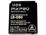 バッテリー LB080