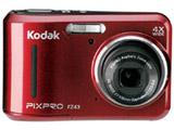 コンパクトデジタルカメラKodak PIXPRO FZ43RD (レッド)