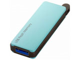RUF3-PW8G-BL USB3.0対応 USBメモリー(8GB/ブルー/キャップレス)