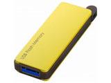 RUF3-PW16G-YE USB3.0対応 USBメモリー(16GB/イエロー/キャップレス)