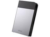 ポータブルHDD [USB3.0・1TB] 耐衝撃×防雨防塵 MiniStation HD-PZNU3シリーズ(シルバー) HD-PZN1.0U3-S