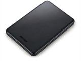 HDPUS1.0U3BC アルミ素材&スリム ポータブルHDD 1TB ブラック