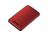 【在庫限り】 SSD-PM120U3A-R 外付けSSD パソコン用 レッド [ポータブル型 /120GB]