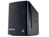 バッファロー(BUFFALO) HD-WL6TU3/R1J(ミラーリング機能搭載 USB3.0用外付ハードディスク 6TB/2ドライブ)
