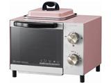 【在庫限り】 オーブントースター (800W) KOS-0703-P ピンク