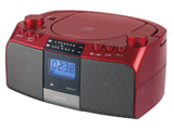 CDラジオ(ラジオ+CD) SAD-4705/R レッド [ワイドFM対応]