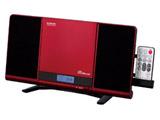 CDラジオ(ラジオ+SD+USBメモリー+CD) SDB4342R レッド [Bluetooth対応 /ワイドFM対応]
