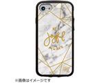 iPhone 8/7/6s/6対応 IJOY JOYFUL 衝撃吸収フィルム付 I7SIJ07