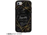 iPhone 8/7/6s/6対応 IJOY SPARKLE 衝撃吸収フィルム付 I7SIJ08
