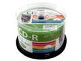 【HIDISC】HDCR80GP50 CD-R 700MB 50枚スピンドル 52倍速 ワイドプリンタブル