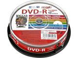 HDDR12JCP10 録画用DVD-R HIDISC [10枚 /4.7GB /インクジェットプリンター対応]