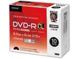 DVD-R DL録画用 10Pスリムケース HDDR21JCP10SC