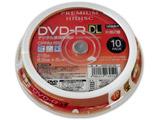 HDDR21JCP10SP DVD-R DL録画用 10Pスピンドル