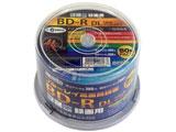 HIDISC録画用BD-R DL 50GB 1-6倍速対応 50枚 HDBDRDL260RP50