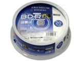 録画用 BD-R DL 1-6倍速 50GB 20枚【インクジェットプリンタ対応】 HDVBR50RP20SP