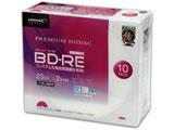 BD-RE 1-2倍速対応 25GBくり返し録画用デジタル放送対応インクジェットプリンタ対応10枚 HDVBE25NP10SC