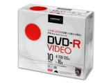 【TYテクノロジーシリーズ】HIDISC DVD-R録画用 16倍速 120分ホワイトワイドプリンタブル 5mmスリムケース 10枚 TYDR12JCP10SC
