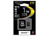microSDXCカード HIDISC  HDMCSDX1TA2V30 [1TB /Class10]