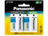 【円筒形リチウム電池】(2個入り) 2CR-5W/2P