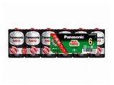 【単1形】6本 マンガン乾電池「ネオ」 R20PNB-6VSW