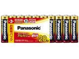 【単3形】20本 アルカリ乾電池 LR6XJ/20SW