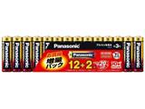【単3形】アルカリ乾電池 12+2本パック(限定増量パック) LR6XJSP/14S