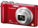 LUMIX DMC-ZX3-R (1410万画素/8倍/AVCHD Lite/レッド/SDXC)