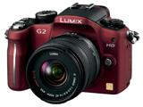LUMIX DMC-G2K-R 標準ズームレンズキット (コンフォートレッド)(1210万画素/SDXC)