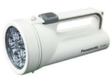 エボルタ付きLED強力ライト F-KJWBS01-W シロ