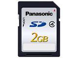 RP-SDL02GJ1K (Class4対応SDカード / 2GB)