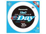 丸形蛍光灯 「パルック e-Day」(30形 2本入・昼光色) FCL30EXD28E2TF