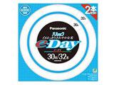 丸形蛍光灯 「パルック e-Day」(30形+32形 2本入・昼光色) FCL3032EXDE2TF