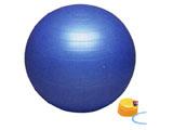 バランスボール セイフティー(ブルー/φ55cm) DB55P【ポンプ付】