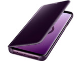 【純正】Galaxy S9+用CLEAR VIEW STANDING COVER EF-ZG965CVEGJP パープル