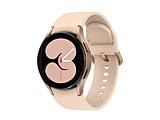 SM-R860NZDAXJP スマートウォッチ Galaxy Watch4 40mm ピンクゴールド