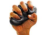 健康グッズ 超握力(ブラック) 3B-4718