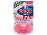 【液体ブルーレットおくだけ】 ピーチの香り 無色の水 つめかえ用〔トイレ用洗剤〕