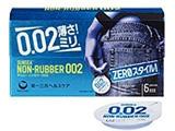 【サンシー】ノンラバー 002 12個入り<コンドーム>〔避妊用品〕