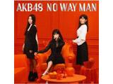 【11/28発売予定】 AKB48 / 54thシングル「NO WAY MAN」 Type B 通常盤 DVD付 CD ◆先着予約特典「生写真(荻野由佳、須田亜香里)」