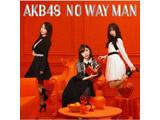 【11/28発売予定】 AKB48 / 54thシングル「NO WAY MAN」 Type D 通常盤 DVD付 CD ◆先着予約特典「生写真(荻野由佳、須田亜香里)」