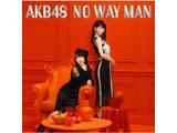 AKB48 / 54thシングル「NO WAY MAN」 Type E 通常盤 DVD付 CD