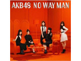 AKB48 / 54thシングル「NO WAY MAN」 Type A 初回限定盤 DVD付 CD