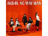 【11/28発売予定】 AKB48 / 54thシングル「NO WAY MAN」 Type B 初回限定盤 DVD付 CD ◆先着予約特典「生写真(荻野由佳、須田亜香里)」